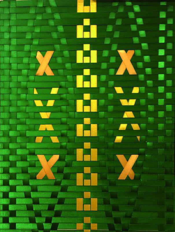 028 Green and yellow
