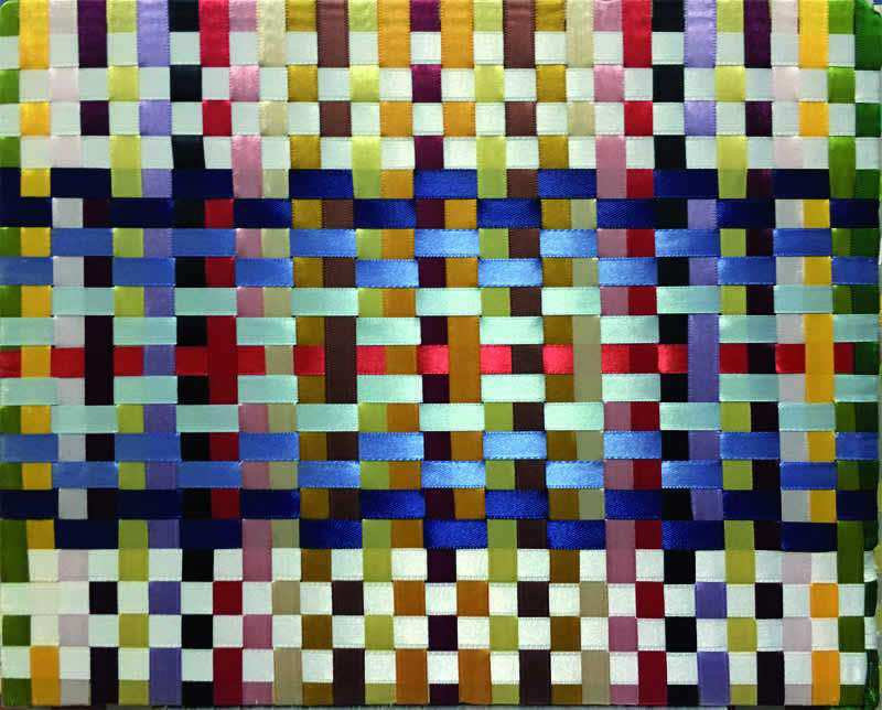 060 Blu weave