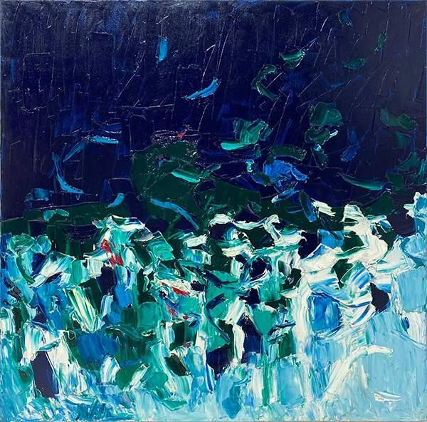 Cromatico blu