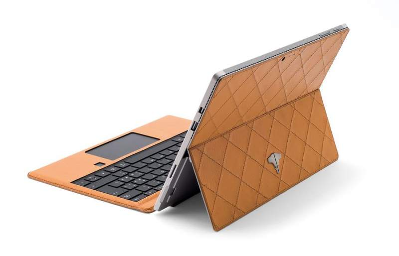 PC Tablet & Real Leather Ocra