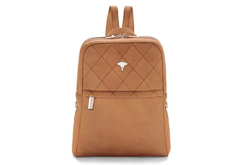 Backpack Real Leather Ocra