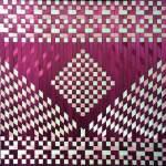 025 Triangle purple and white